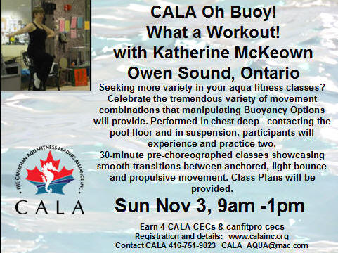 CALA Canadian Aquafitness Leaders Alliance Inc